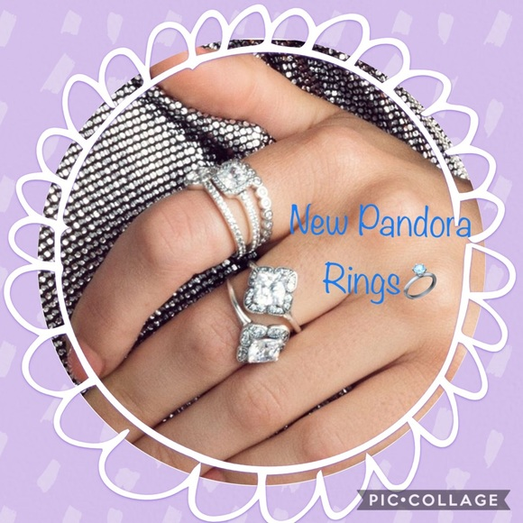 a9a571e46 Pandora Jewelry | New Rings In Our Closet Ad Photo | Poshmark